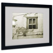 Trademark Fine Art Miguel Paredes 'Window' Matted Art Black Frame 11x14 Inches