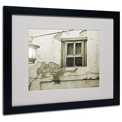 Trademark Fine Art Miguel Paredes 'Window' Matted Art 16x20 Inches