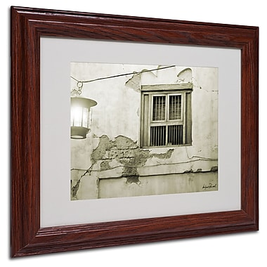 Miguel Paredes 'Window' Matted Framed Art - 11x14 Inches - Wood Frame