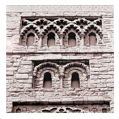 Trademark Fine Art Miguel Paredes 'Building' Canvas Art 14x14 Inches
