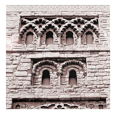 Trademark Fine Art Miguel Paredes 'Building' Canvas Art 18x18 Inches