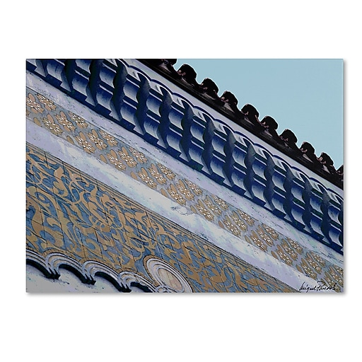 Trademark Fine Art Miguel paredes 'Rooftop' Canvas Art 14x19 Inches