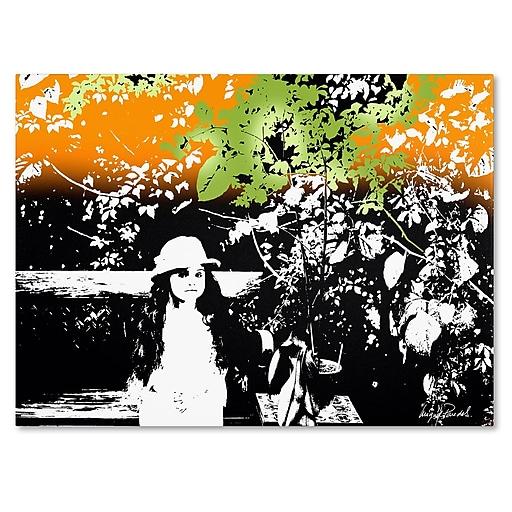 Trademark Fine Art Miguel Paredes 'Isabella' Canvas Art 30x47 Inches