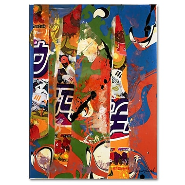 Trademark Fine Art Miguel Paredes 'Japan I' Canvas Art 18x24 Inches