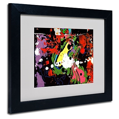 Trademark Fine Art Miguel Paredes 'Fisheye' Matted Art Black Frame 11x14 Inches