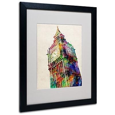 Trademark Fine Art Michael Tompsett 'Big Ben' Canvas Art 14x19 Inches