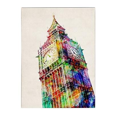 Trademark Fine Art Michael Tompsett 'Big Ben' Canvas Art 18x24 Inches