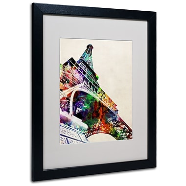 Trademark Fine Art Michael Tompsett 'Eiffel Tower' Canvas Art 14x19 Inches