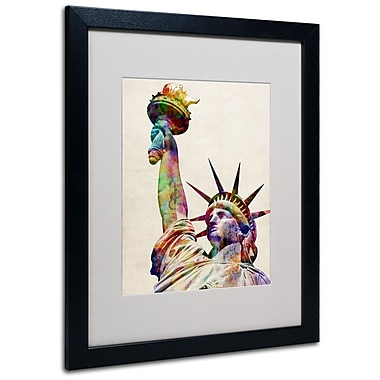 Trademark Fine Art Michael Tompsett 'Statue of Liberty' Canvas Art 14x19 Inches