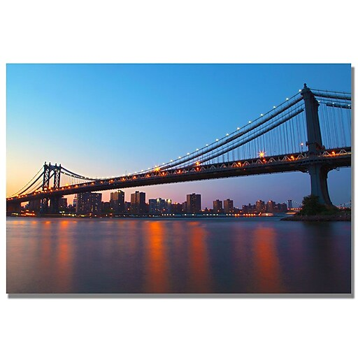 Trademark Fine Art MCat 'Frames' Canvas Art 22x32 Inches