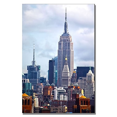 Trademark Fine Art CATeyes 'Concrete Jungle' Canvas Art 16x24 Inches