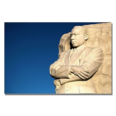 Trademark Fine Art CATeyes 'Genuine Leader' Canvas Art 35x47 Inches