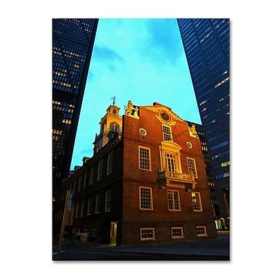 Trademark Fine Art CATeyes 'Boston' Canvas Art 22x32 Inches