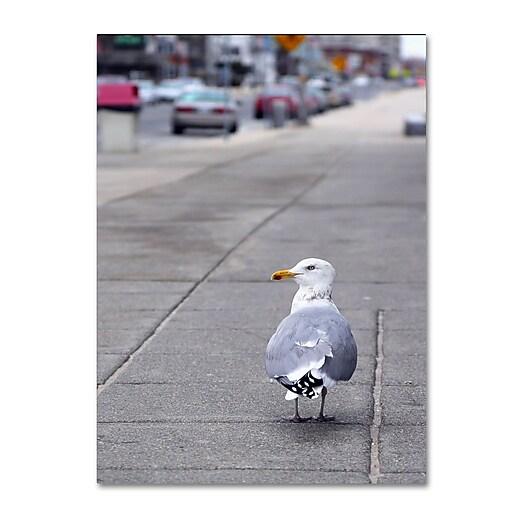 Trademark Fine Art CATeyes 'Boston 4' Canvas Art 22x32 Inches