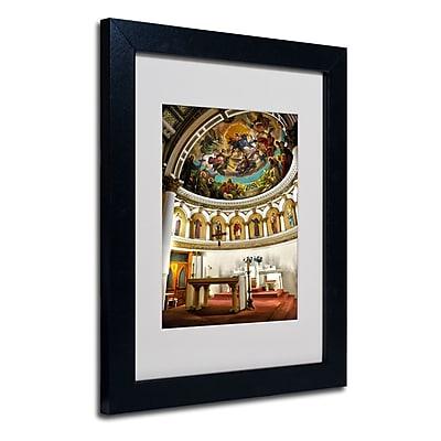 Trademark Fine Art CATeyes 'St. Leonards 2' Matted Art Black Frame 11x14 Inches