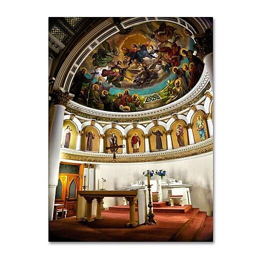 Trademark Fine Art CATeyes 'St. Leonards 2' Canvas Art 16x24 Inches