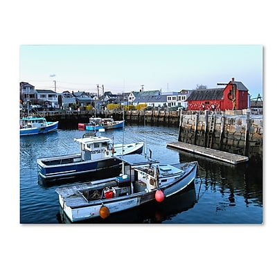 Trademark Fine Art CATeyes 'Boston 7' Canvas Art 30x47 Inches