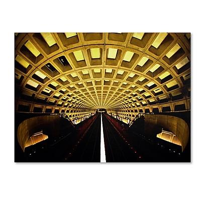 Trademark Fine Art CATeyes 'Lines' Canvas Art 16x24 Inches