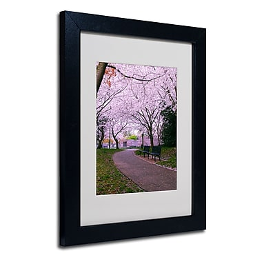 Trademark Fine Art CATeyes 'The Hope' Matted Art Black Frame 11x14 Inches