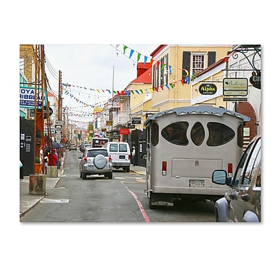 Trademark Fine Art CATeyes 'Virgin Islands 7' Canvas Art 30x47 Inches