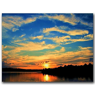 Trademark Fine Art Touch the Wind by CATeyes Canvas Art Ready to Hang 18x24 Inches