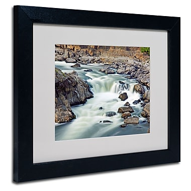 Trademark Fine Art CATeyes 'A Treasure' Matted Art Black Frame 11x14 Inches