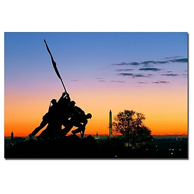 Trademark Fine Art CATeyes 'Hopeful as the Dawn' Canvas Art 22x32 Inches