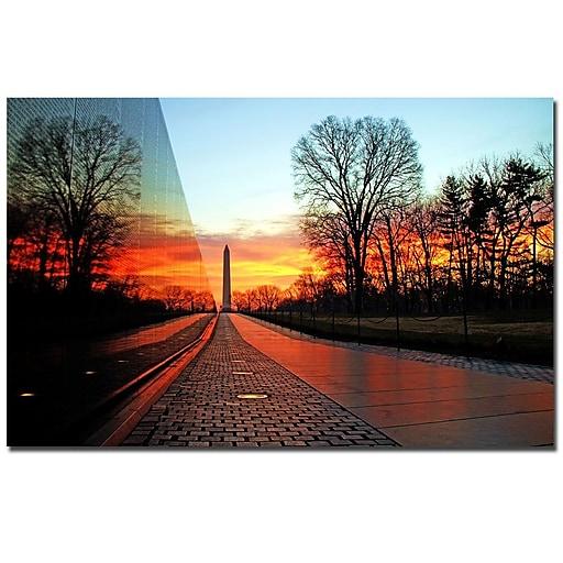 Trademark Fine Art CATeyes 'Invincible' Canvas Art 22x32 Inches