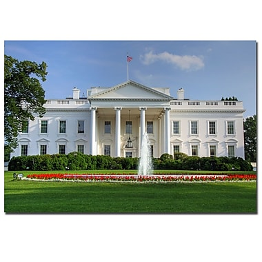 Trademark Fine Art CATeyes 'White House' Canvas Art