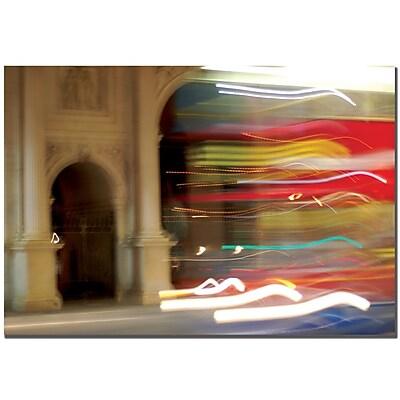 Trademark Fine Art Nicole Dietz 'London Blur' Canvas Art