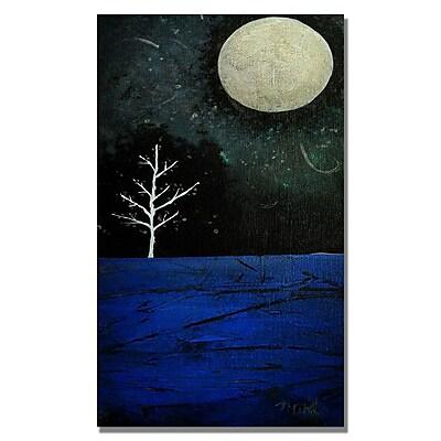 Trademark Fine Art Nicole Dietz 'Moonbeams' Canvas Art