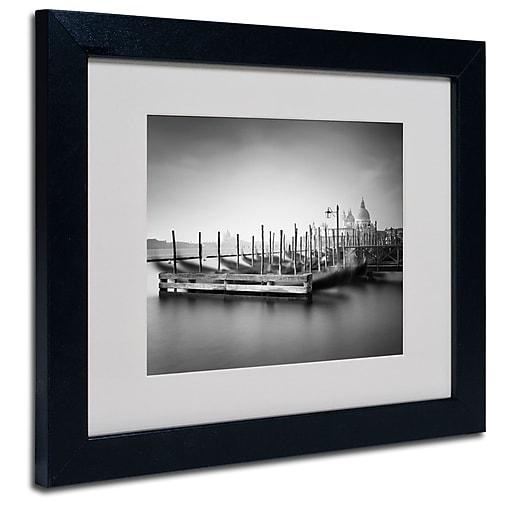 Trademark Fine Art Nina Papiorek 'Venice Dream' Matted Art Black Frame 11x14 Inches