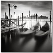 Trademark Fine Art Nina Papiorek 'Venice Gondolas' Canvas Art