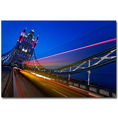Trademark Fine Art Nina Papiorek 'London, Big Ben' Canvas Art 22x32 Inches