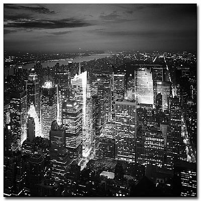 Trademark Fine Art Nina Papiorek 'Times Square' Canvas Art