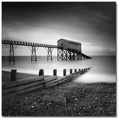 Trademark Fine Art Nina Papiorek 'Selsey Lifeboat Stations' Canvas Ar