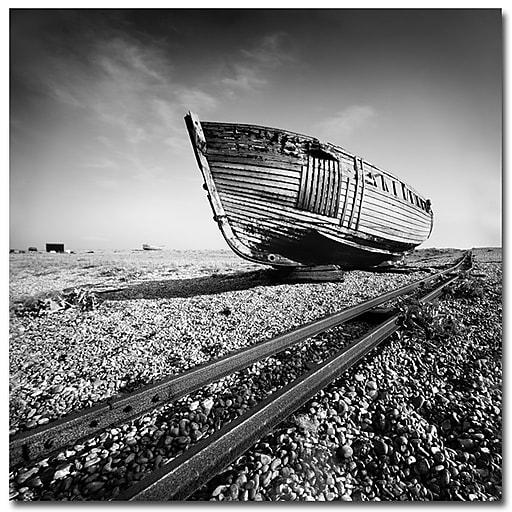 Trademark Fine Art Nina Papiorek 'Ship Wreck' Canvas Art