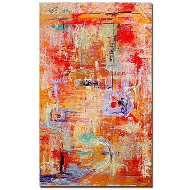 Trademark Fine Art Pat Saunders-White 'Odessy' Canvas Art