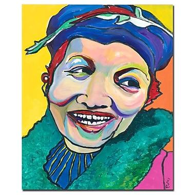 Trademark Fine Art Pat Saunders-White 'Koko Vivienne' Canvas Art 26x32 Inches