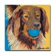 Trademark Fine Art Pat Saunders-White 'Caleigh' Canvas Art