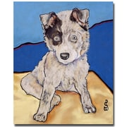 Trademark Fine Art Pat Saunders-White 'Reba Rae' Canvas Art