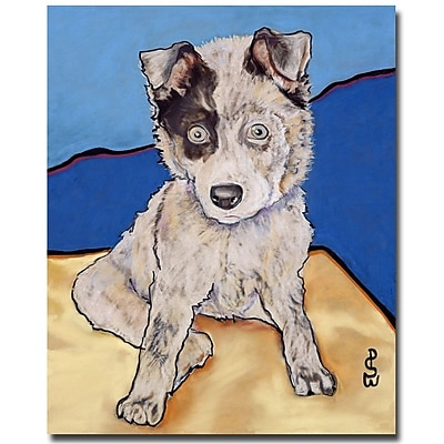 Trademark Fine Art Pat Saunders-White 'Reba Rae' Canvas Art