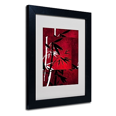 Trademark Fine Art Philippe Sainte-Laudy 'Bamboo Style' Matted Art Black Frame 11x14 Inches
