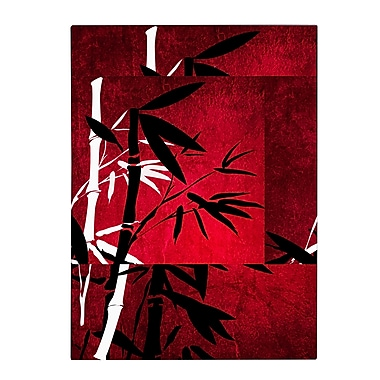 Trademark Fine Art Philippe Sainte-Laudy 'Bamboo Style' Canvas Art 30x47 Inches