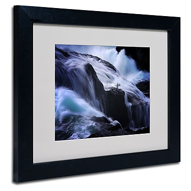 Trademark Fine Art Philippe Sainte-Laudy 'Liquide Illusion' Matted Art Black Frame 11x14 Inches
