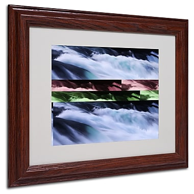 Philippe Sainte-Laudy 'Polaris' Matted Framed Art - 11x14 Inches - Wood Frame
