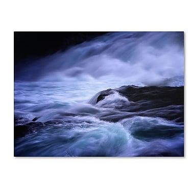 Trademark Fine Art Philippe Sainte-Laudy 'Blue Stream' Canvas Art 16x24 Inches