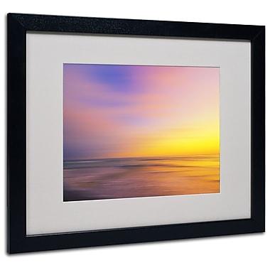 Trademark Fine Art Philippe Sainte-Laudy 'Metallic Sunset' Matted Art Black Frame 16x20 Inches