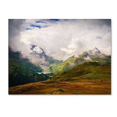 Trademark Fine Art Philippe Sainte-Laudy 'Peaceful Switzerland' Canvas Art 22x32 Inches