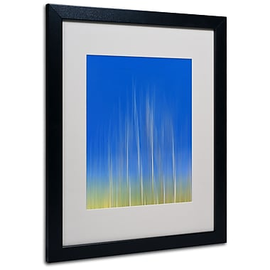 Trademark Fine Art Philippe Sainte-Laudy 'Vertical Activity' Matted Art Black Frame 16x20 Inches